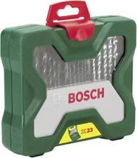 BOSCH 2607019325 Universal Bohrer Sortiment Set 33 tlg Holz Stein Metall Koffer