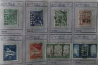 24 sellos stamp Algerie Republica France colonias usados