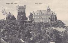 AK Bingen am Rhein, Burg Klopp, Feldpost 1915
