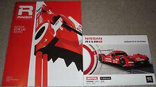 Le Mans - FIA WEC 2015 - Nissan GT-R LM Nismo - Booklet & Information Card