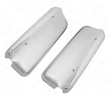 QSC Left Right Chrome Mirror Cover Pair for Freightliner Century Columbia 2005+