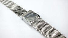 Genuino Reloj Correa de acero de malla de reloj Mondaine/Pulsera (12 MM) FM8912. vástago .2