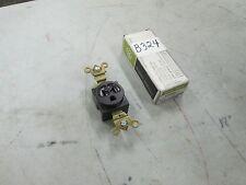 GE Receptacle #GE5261-1 125V 15A 2 Pole 3 Wire Single Ground Recept Lot 5 (NIB)
