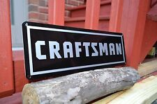 CRAFTSMAN TOOL SIGN Mechanic Sears Workbench Shop Advertising Logo Garage