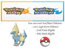 Pokemon Ultra Sun and Moon Korean World Championship2014 Event Pokemon Manectric