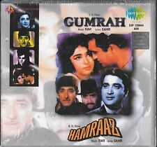 GUMRAH / HAMRAAZ - 2 IN ONE FILM SONGS - NEW BOLLYWOOD CD - FREE UK POST