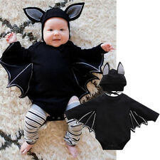 Baby Kinder Fledermaus Kostüm Vampir Overall Jumpsuit Halloween Cosplay Kostüm