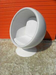 Ball Chair Sitzkugel Vintage Klassiker Text beachten