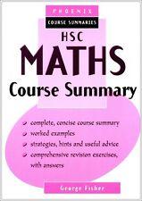HSC Maths (2U) Course Summary YEAR 12