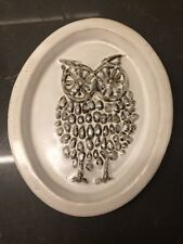 Vintage Bennington Pottery David Gil Owl Dish #1502