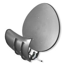 Satspiegel Toroidal (Wavefrontier) T90 P dunkelgrau Multifocus Antenne