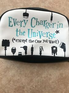 """Charger Case """"Every Charger In the Universe Except The One You Want"""""""