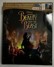 NEW BEAUTY AND THE BEAST 2017 BLU RAY DVD DIGITAL HD TARGET EXCLUSIVE DIGIBOOK
