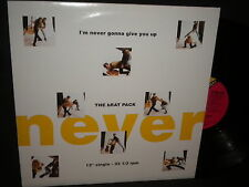 "The Brat Pack ""Im' Never Gonna Give You Up"" 12"" Single in Stereo"