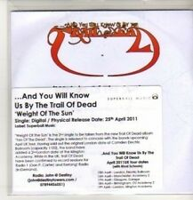(CO86) ...And You Will Know Us By The Trail Of Dead, Weight Of The Sun - DJ CD
