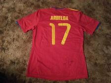 ALVARO ARBELOA SIGNED ADIDAS SPAIN SOCCER JERSEY