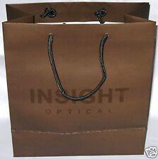 Great quality Black medium paper bag fr Insight Optical