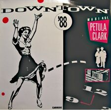 ++PETULA CLARK downtown/don't sleep in the subway MAXI 1988 CARRERE EX++