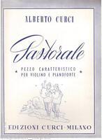 Curci : Pastorale, Stück Eilöffel Für Violine E Klavier - Curci