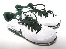 NEW Nike MVP Pro Baseball Cleats Green White 524641-131 Size 15 Oakland A's MLB