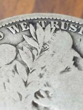 1909 Barber Half Dollar Fine F