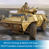 Trumpeter 07131 01541 1/72 1/35 M1117 Guardian Armored Security Vehicle Model