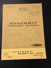 Heathkit HN-31 Cantenna Dummy RF Load Original Vintage Manual