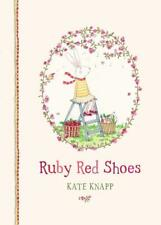 NEW Ruby Red Shoes By Kate Knapp Hardcover Free Shipping