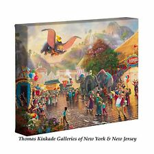 Thomas Kinkade Dumbo 8 x 10 Gallery Wrapped Canvas Disney