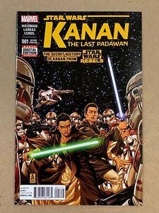 STAR WARS: KANAN THE LAST PADAWAN #1 2ND PRINTING VARIANT COVER KEY MARVEL FN/VF