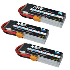 3pcs HRB 11.1V 2200mAh 30C 60C RC Lipo Battery Airplane Trex-450 Helicopter XT60