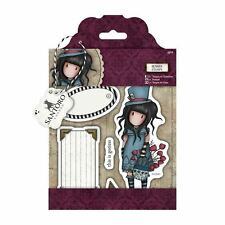 THE HATTER-Docrafts Santoro Gorjuss Cling Mount Rubber Stamp-Stamping Craft-Girl