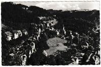 Ansichtskarte Bad Berneck im Fichtelgebirge - Ortsansicht - schwarz/weiß