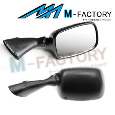 Black Aftermarket Side Mirrors For Suzuki GSX1300R Hayabusa 99-16 08 09 10 11 12
