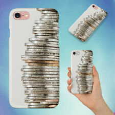 SILVER AND GOLD COINS HARD BACK CASE FOR APPLE IPHONE PHONE