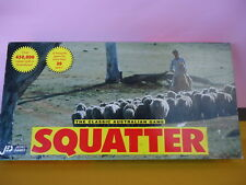SQUATTER VINTAGE 1990's The Australasian Farming Game JEDKO GAMES COMPLETE 6198