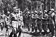 WW2 - Le Général italien Gariboldi sur le front russe en 1941