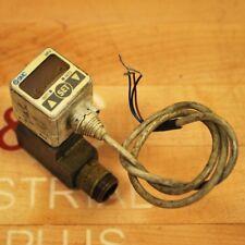 SMC ISE40-T1-62 Hydraulic Pressssure Switch, 12-24 VDC 0.100~1.000 Mpa - USED