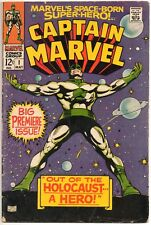 CAPTAIN MARVEL# 1 OUT OF THE HOLOCAUST / MARVEL COMICS 1968 / CAROL DANVERS