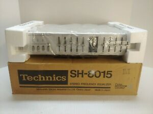 VINTAGE TECHNICS STEREO FREQUENCY EQUALIZER MODEL SH-8015 MADE IN JAPAN