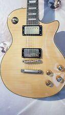 E- Gitarre Les Paul Projekt Classic Body Gold Hardware aber un-lackierter Hals!!