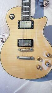 E- Gitarre Les Paul TOP Projekt super Body Gold Hardware Neck leider un-lackiert