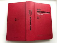 Guide Michelin France 1980