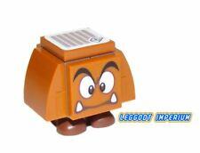 LEGO Super Mario - Goomba neutral - buildable minfigure & tile FREE POST