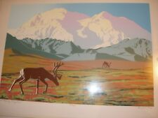 "D.Cototti - 1986  ""Mt. McKinley - Migration"" - No.117/167 - Signed Serigraph"