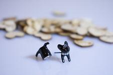 1 Piece !! 3D Animal Leopard Cat Earrings