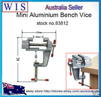 3.5 Aluminum Mini Small Jewelers Hobby Clamp On Bench Table Vise,DIY Tool-83812