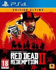 Red Dead Redemption 2 Ultimate Steelbook Edition Uncut PS4 Spiel *NEU OVP*