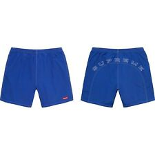 Supreme Arc Logo Water Short ROYAL BLUE SIZE SMALL *ORDER IN HAND* SS20