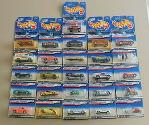 26 x Hot Wheels 1998 First Edition Bulk Lot 26 Cars New on Cards Fair to GC
